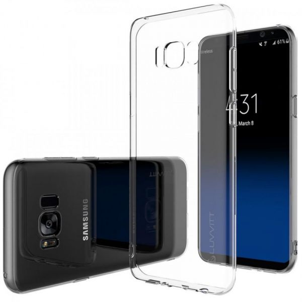 samsung s8 silicone case clear