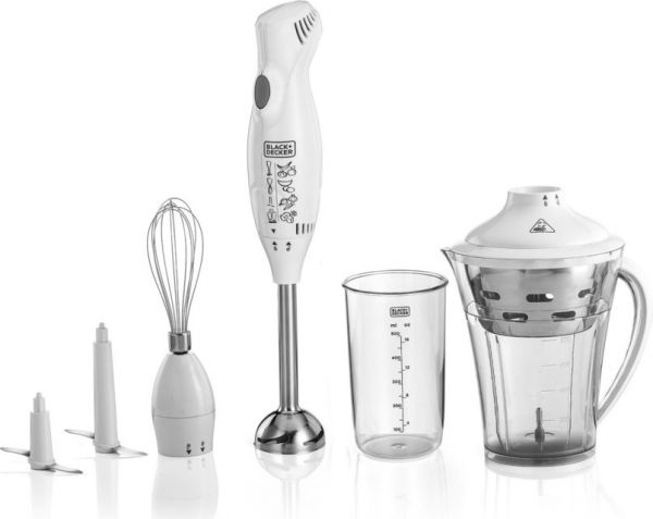 Hand Blenders And Choppers ~ Souq black and decker in hand blender with chopper