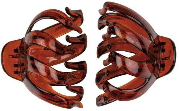 a65b70e93 Titania Big Octopus Hair Clips - Brown - 2 Pieces | Souq - Egypt