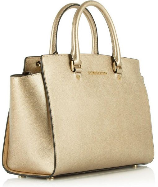 Michael Kors Bag For Women Gold Tote Bags