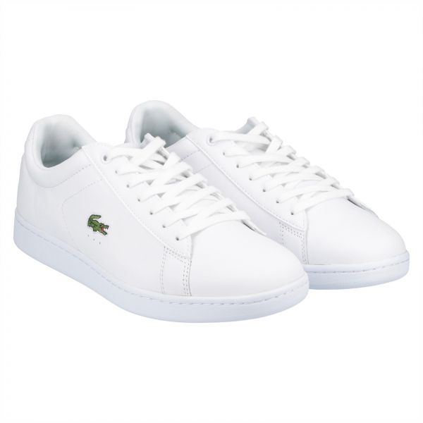 48c211a4c04e82 Lacoste Carnaby Evo Fashion Sneakers for Men - White