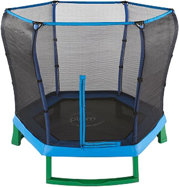 Trampoline Parts Plum: Plum Play Uk 7 Ft Junior Trampoline With Enclosure And