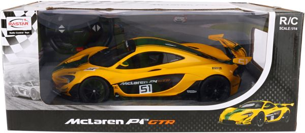 Lovely Rastar McLaren P1 GTR Race Car With Remote Control