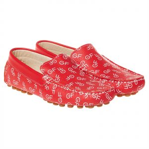 61c73830d35 GF Red Loafer For Boys