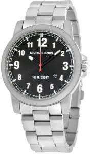 1eff9ab950c2 Michael Kors Paxton Men s Black Dial Stainless Steel Band Watch - MK8500