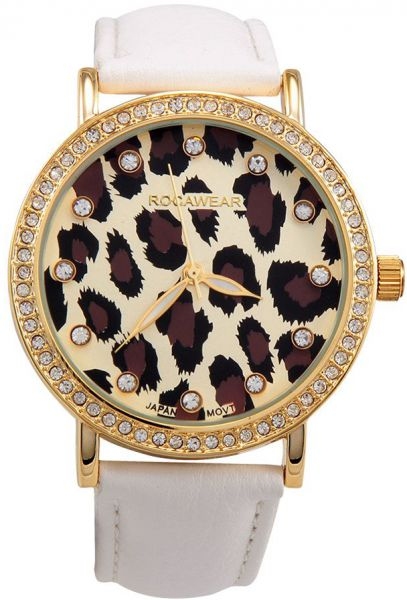 Rocawear Casual Watch For Women Analog Leather Rl0271g1 704 Souq