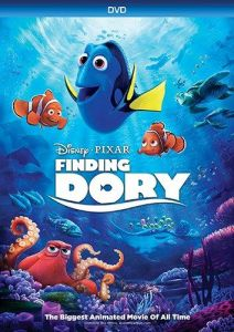 disney pixar finding dory sticker scenes