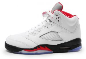 b5406bc7adc0 Air Jordan 5 GS White Basketball Shoes