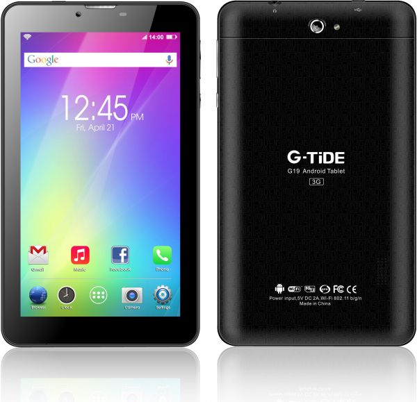 G-TiDE G19 Tablet , 7 Inch touch Screen , 8GB , 3G , Black