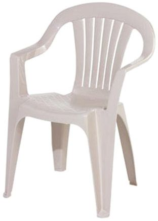 Adams Low Back Stacking Chair - Desert Clay