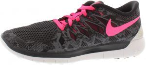 sale retailer fd798 ecec8 Nike Free 5.0 Running Shoes for Women, Anthracite Hyper Pink Black White