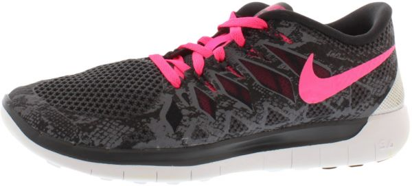 Nike Free 5.0 Premium Running Shoes for Women, Multi Color