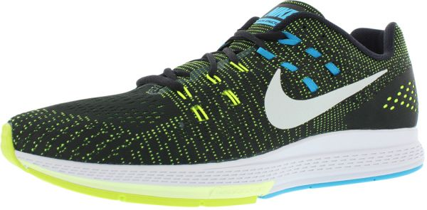 sneakers for cheap a40b0 c0090 Nike Structure 19 Running Shoes for Men, Black Pure Platinum Volt Blue  Lagoon   Souq - UAE