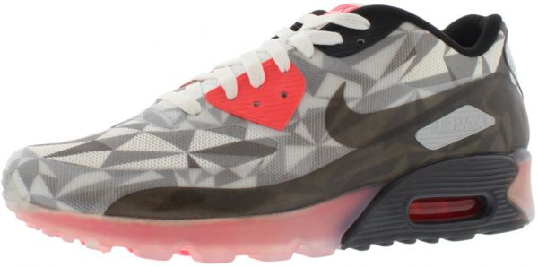 best loved 0590e f9850 Nike Air Max 90 Ice Running Shoes for Men, Dark Grey Cool Grey White Black    Souq - UAE