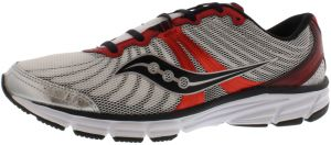Saucony Grid Rapture Running Shoes for Men, WhiteRedSilver