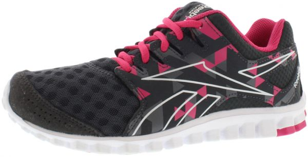 d31ece20fb5ace ... promo code reebok realflex scream 3.0 running shoes for women gravel  grey pink steel white ef521