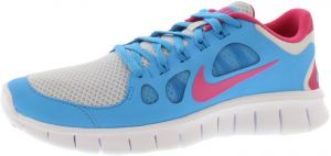 best sneakers d5279 e3e2c Nike Free 5.0 Gradeschool Running Shoes for Girls, Multi Color