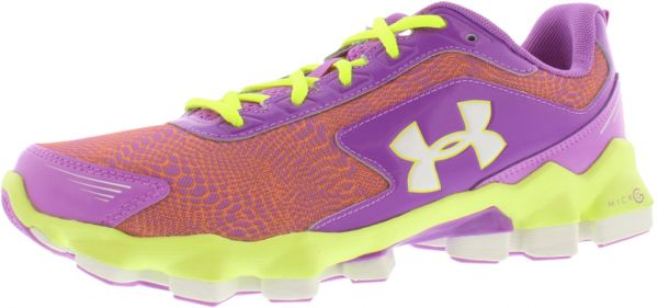 5cd70245 Under Armour Micro G Nitrous Running Shoes for Girls, Exotic ...