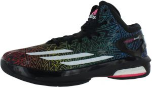 the best attitude 57ef2 276db ... reduced adidas crazy light boost basketball shoes for men black white  soft pink 8cf7b d7592