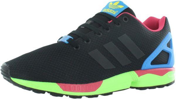 6f3441f91 ... promo code for adidas zx flux running shoes for men black core black  solar green 4fe8f