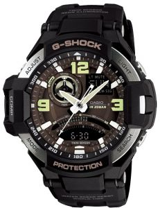 8e1ff75368c Casio G-Shock Gravity Master Men s Ana-Digi Dial Resin Band Watch - GA-1000 -1B
