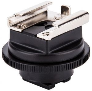 313152e3d0c8 JJC MSA-2 Standard Cold Shoe Adapter Converter for Sony Camcorders with  Active Interface Shoe