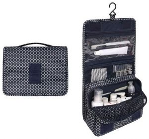fd7e4547e891 dark blue star portable waterproof cosmetic makeup toiletry travel hanging  organizer storage bag pouch