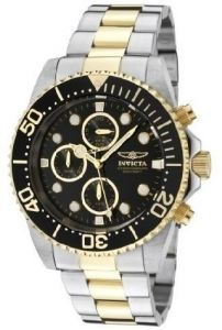 5754366e2f7 Invicta Men s Black Dial Stainless Steel Band Watch - INVICTA-1772