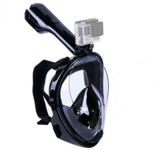 GoPro Camera Snorkel Mask Underwater Anti Fog Full Face Snorkeling Diving Mask