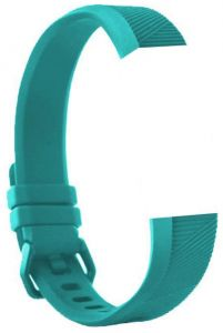 a8c8f27d3834f For Fitbit Alta HR - Small Size Premium Soft Silicone Wrist Band Strap -  Cyan