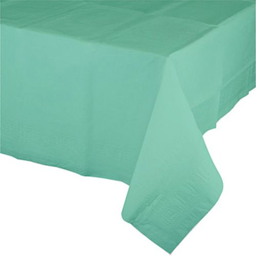 Creative Converting Lined Disposable Table Cover Green Souq Uae