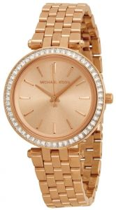 375d37ade362 Michael Kors Mini Darci Women s Rose Gold Dial Stainless Steel Band Watch -  MK3366