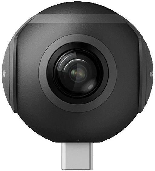 Insta360 Air 360 Degree Vr Camera For android Mobiles - Micro Usb, Black