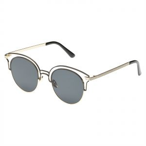dd89c4c632ae0 TFL Round Women s Sunglasses - 8354 C1 Black Gold - 67-15-127 mm