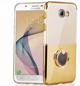 Magic Waltz Series I-Ring Case Cover For Samsung Galaxy A7 2017 SM-720 - Gold