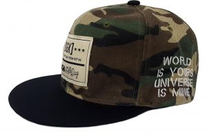 Camouflage Green Baseball   Snapback Hat For Unisex d5d18084310c