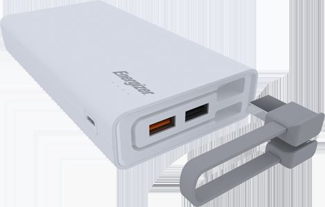 Energizer Power Bank 20000mAh UE20001QC Quick Charge 3 0