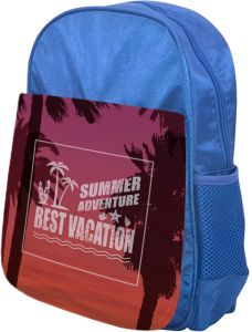 8ece156db best vacation Printed school bag for kids