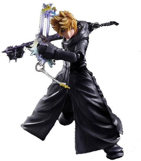 Tujisaki Kingdom Hearts 358 2 Days Kingdom Hearts Ii: Kingdom Hearts 358/2 Days Roxas Action Figure Model Toys