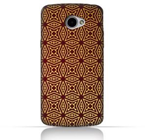 LG K5 TPU Silicone Case With Arbesque Ottoman Pattern Design
