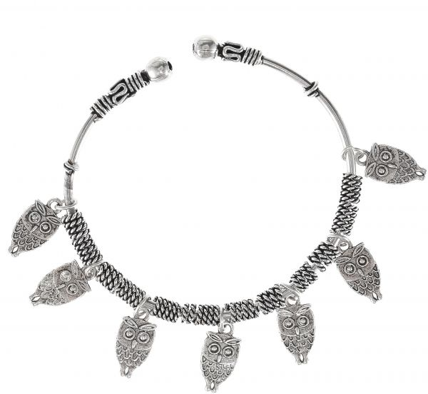 سوق تسوق Active Touch Women S Oxidized German Silver Bracelet With