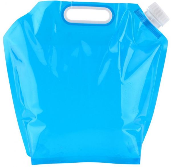 5L Outdoor Foldable Drinking Water Bag Car Water Carrier Container for Outdoor Camping Hiking Picnic BBQ