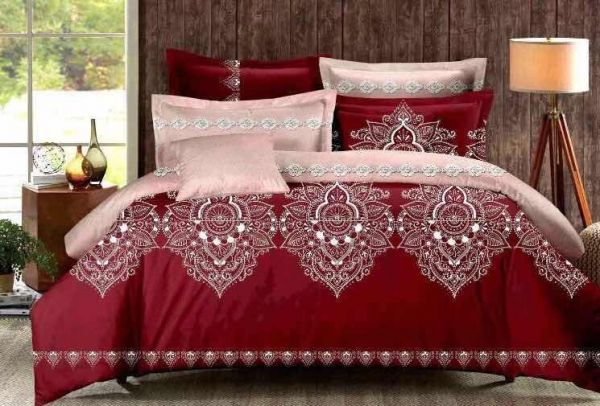 Amazing Six Pieces Cotton Quality Bedding Sets Duvet Covers Bed Sheets Comforter  Covers