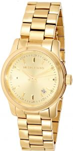 fd2299676 Michael Kors Women's Gold Dial Stainless Steel Band Watch - MK5339