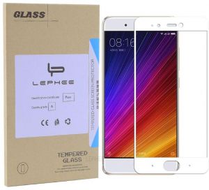 Xiaomi Mi 5S Screen Protector 9H 2.5D Full Coverage Tempered Glass Screen Protector for Xiaomi Mi 5S White
