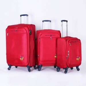 7ea98bd4053c Polo Club Luggage Trolley Bags for Unisex ، 3 Piece ، Red