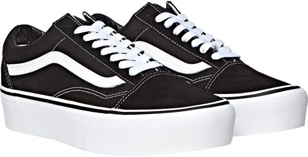 53c7793ec967 Vans Old School Fashion Sneakers for Women - Black   White