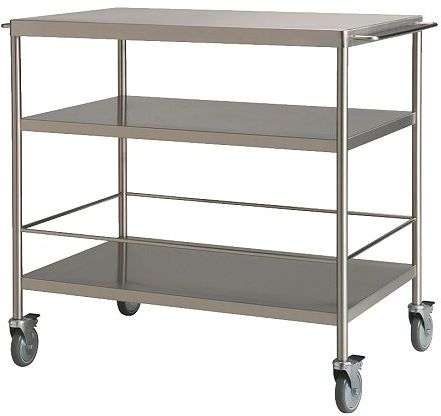 Kitchen Trolley Made of Stainless Steel
