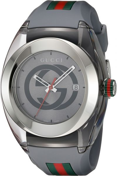 5d843d3b53e Gucci SYNC XXL Men Stainless Steel Watch with Rubber Strap