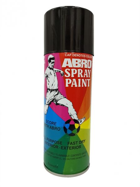 Abro Spray Paint, Gloss Black